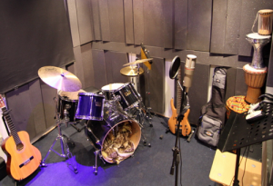 Vocal Booth & Instrument Room